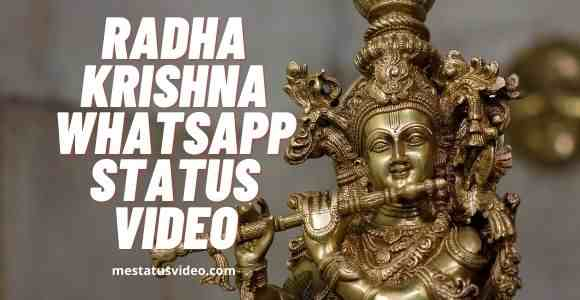 radha krishna whatsapp status video download