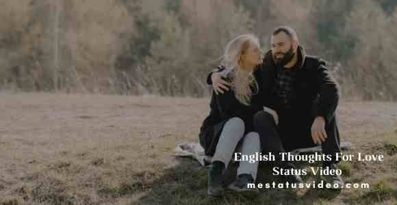 english thoughts for love