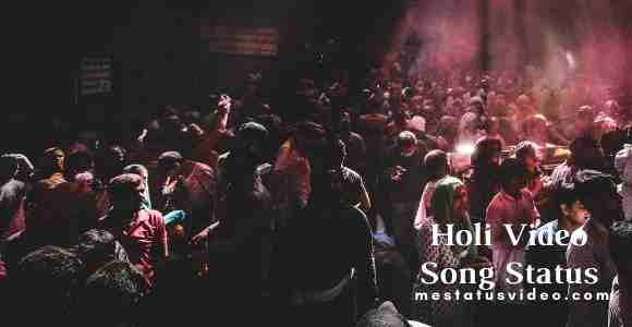 holi video song download